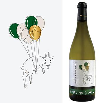ヤギとワイン